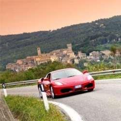 Passeio de Ferrari.