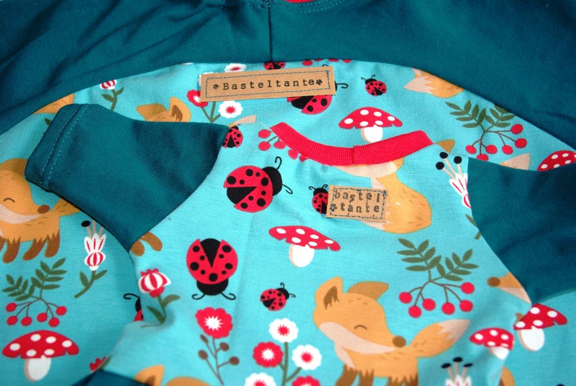 Bethioua Mini von Ellepuls Kindershirt Freebook nähen