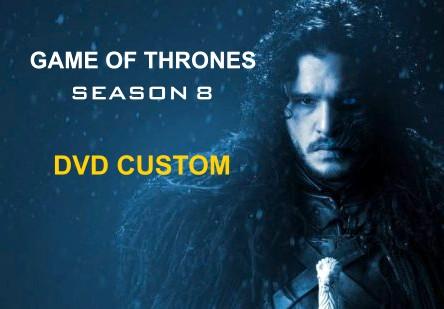 Game of thrones Season 8 DVD CUSTOM DISCO 1