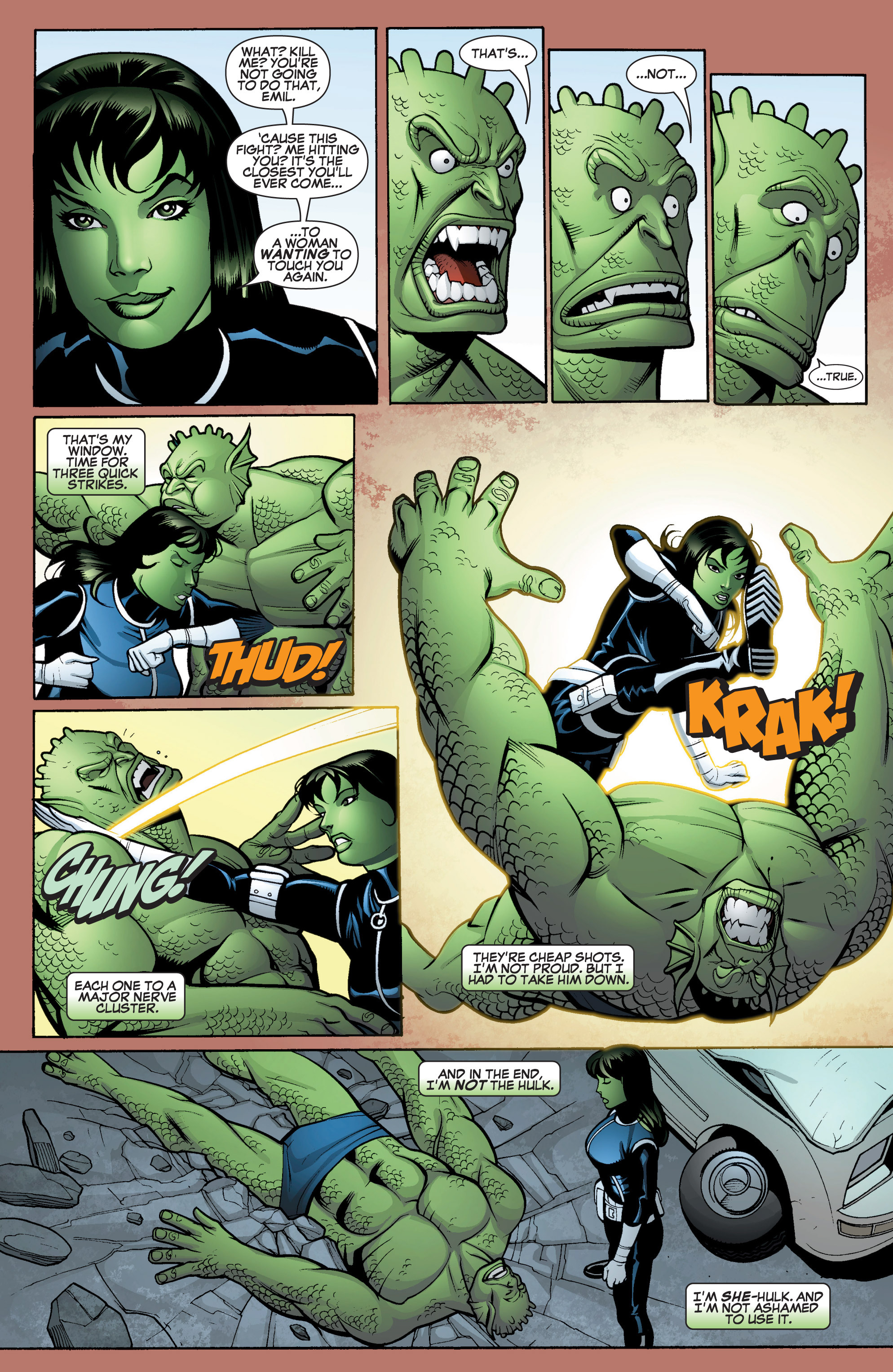 Read online She-Hulk (2005) comic -  Issue #15 - 21