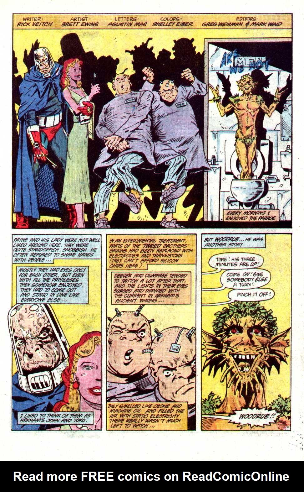 Read online Secret Origins (1986) comic -  Issue #23 - 27