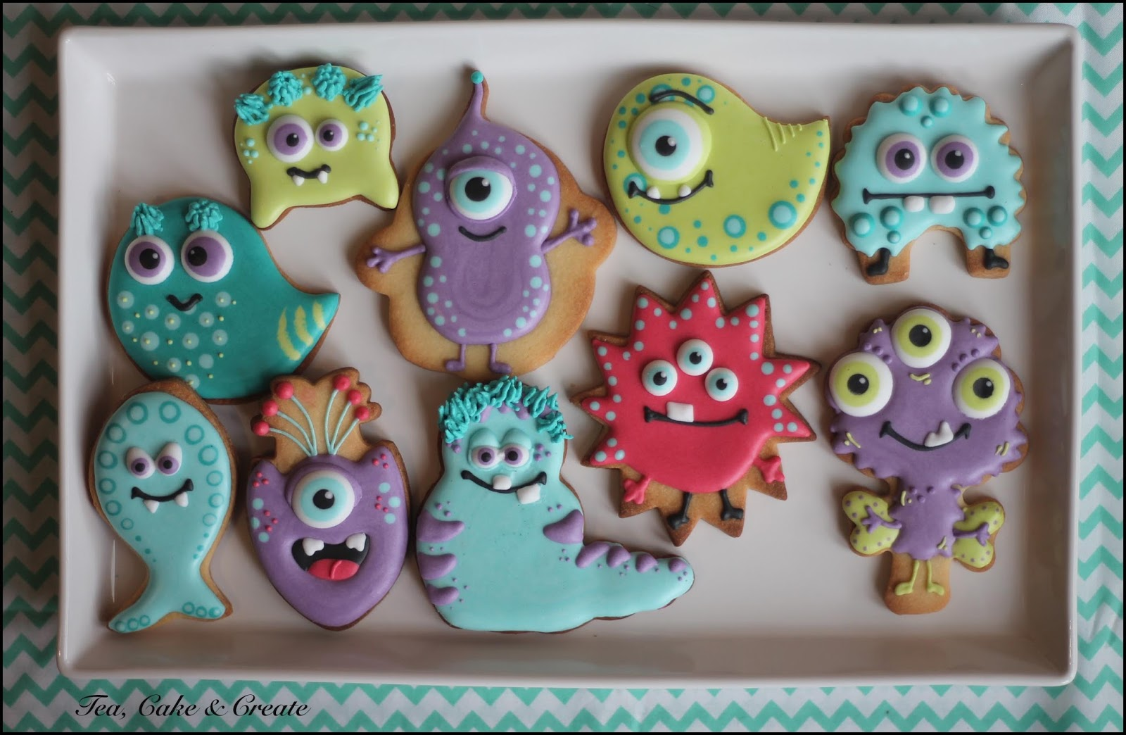 Tea, Cake & Create: Monsters! (Monster Decorated Cookies)