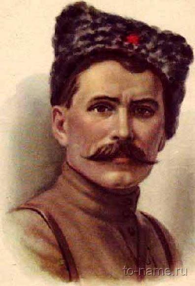 В. И. Чапаев – участник Первой мировой и Гражданской войн, начдив Красной армии.
