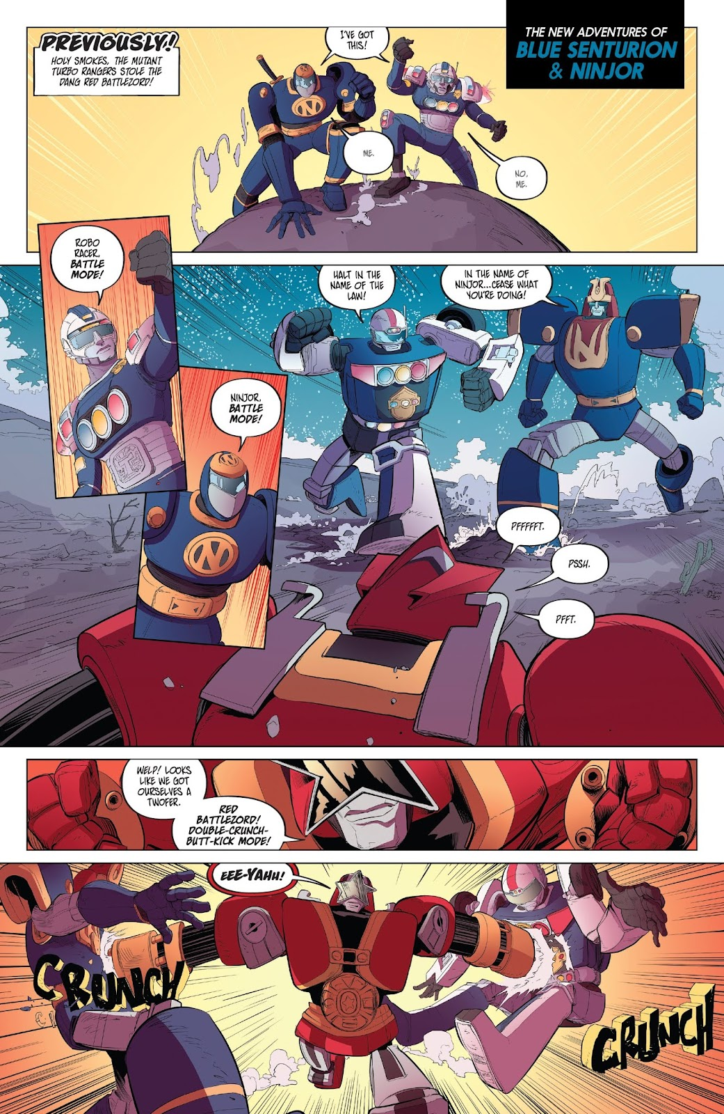 Read online Mighty Morphin Power Rangers comic -  Issue #32 - 20