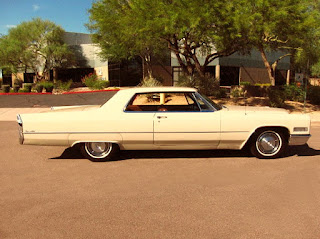 1966 Cadillac Coupe DeVille Side Right
