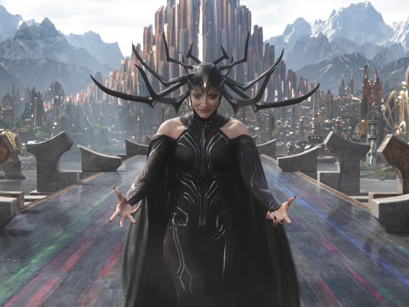 Hela Thor Ragnarok