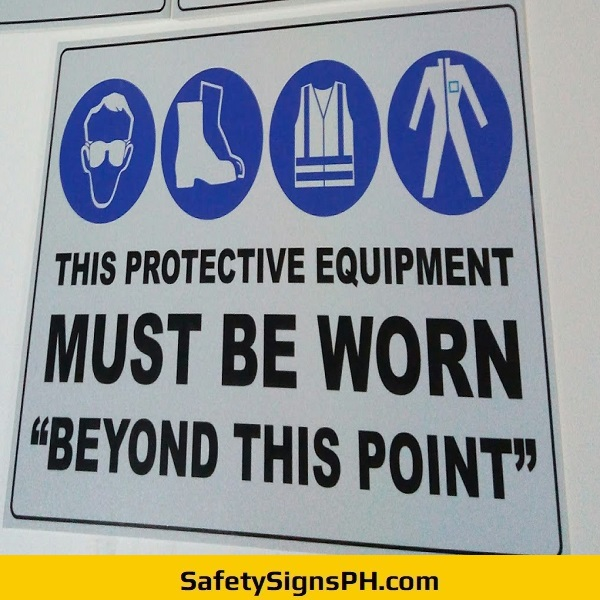 PPE Sign Philippines
