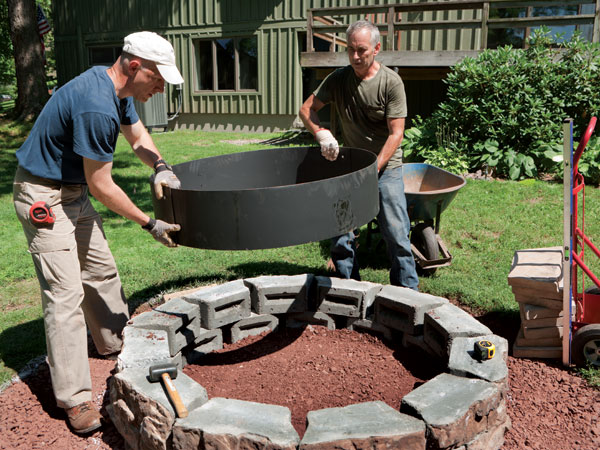 How to Build a Fire Pit in Your Backyard - Decor Units