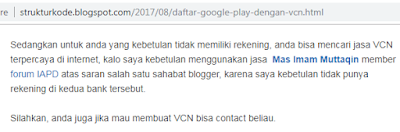 Testimoni Penggunaan Jasa VCN Kami