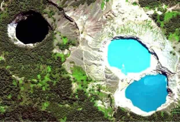 5 Danau berwarna di Indonesia