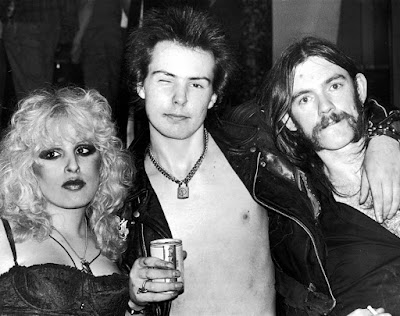Nancy Spungen, Sid Vicious y Lemmy