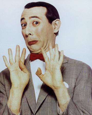 Pee Wee Herman His Face Rings A Bell
