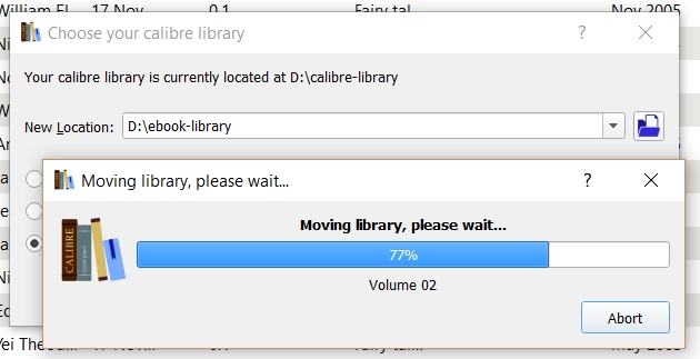 calibre tips and tricks: How to Backup, Move and Export Your Library