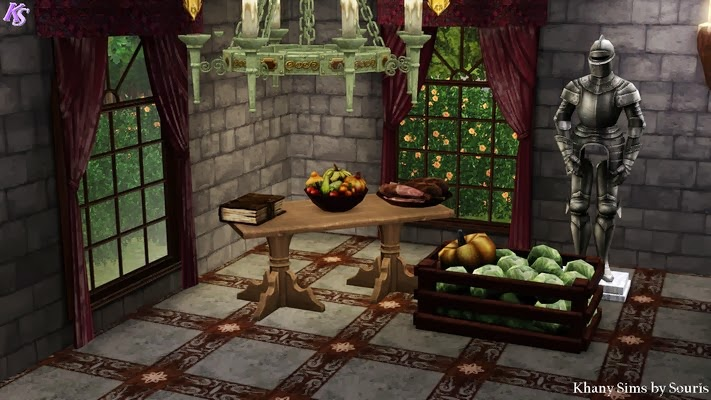 My Sims 3 Blog More Than 90 Medieval Objects By Souris