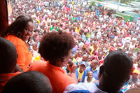 Let the revolution to overthrow UHURU/ RUTO from State House begin! GLADYS WANGA causes tension