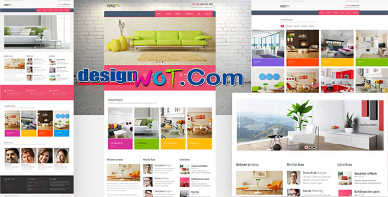 Innova - Interior and Funiture WordPress CMS Theme