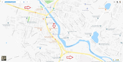 A SP-147 se converte na Avenida das Fontes no perímetro urbano de Lindóia, até desembocar na SP-146 (conforme mapa), onde se vira à direita junto ao posto de combustíveis na esquina.