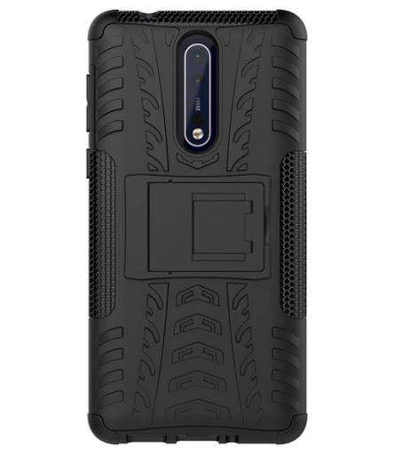 Hybrid Armor Case Nokia 8 Anti Crack