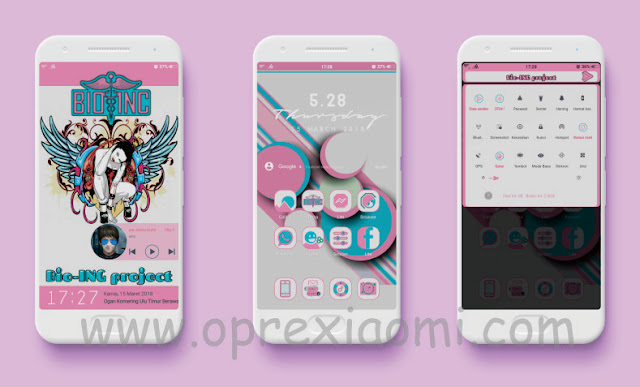 Xiaomi Thema Bio-INC Mtz update tema terbaru