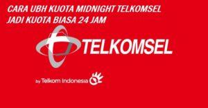 Mengubah Kouta Malam Menjadi Kouta Flash Telkomsel