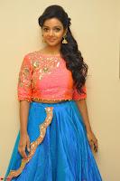 Nithya Shetty in Orange Choli at Kalamandir Foundation 7th anniversary Celebrations ~  Actress Galleries 002.JPG