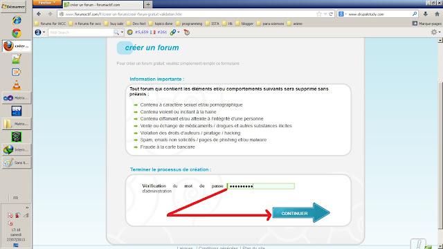 registration dans forumactif.com et créer un forum gratuit