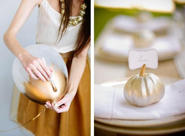 An Easy Wedding Decoration DIY