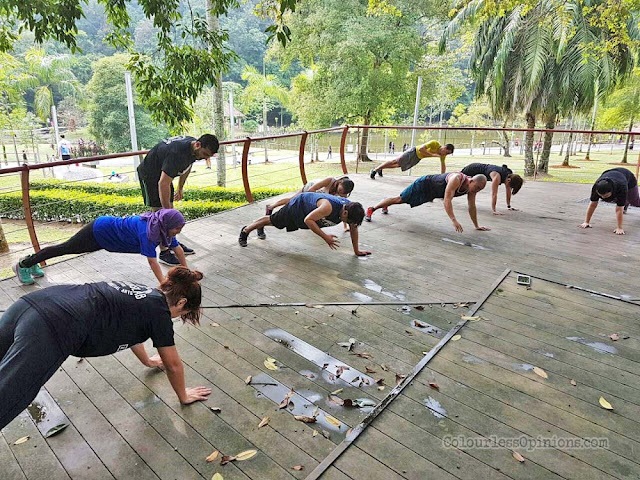 warriorslab outdoor group workout session malaysia