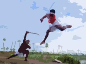 格闘技(素材)