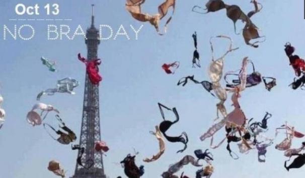 Para Wanita, Tanggalkan Bra di 'No Bra Day' Hari Ini