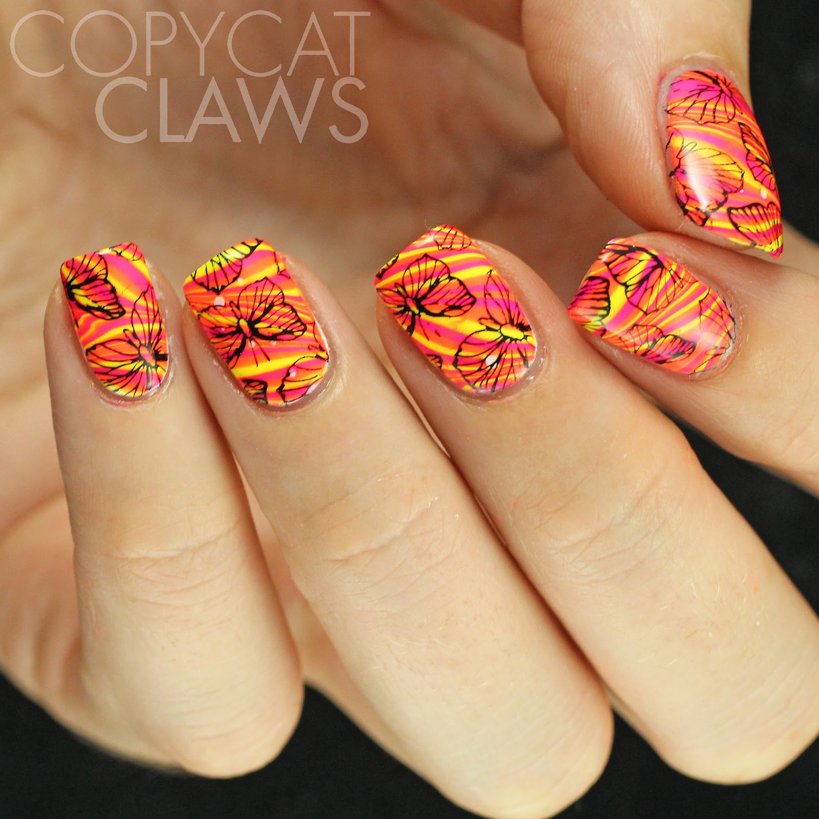 Copycat Claws: UberChic Stamping With A Giveaway
