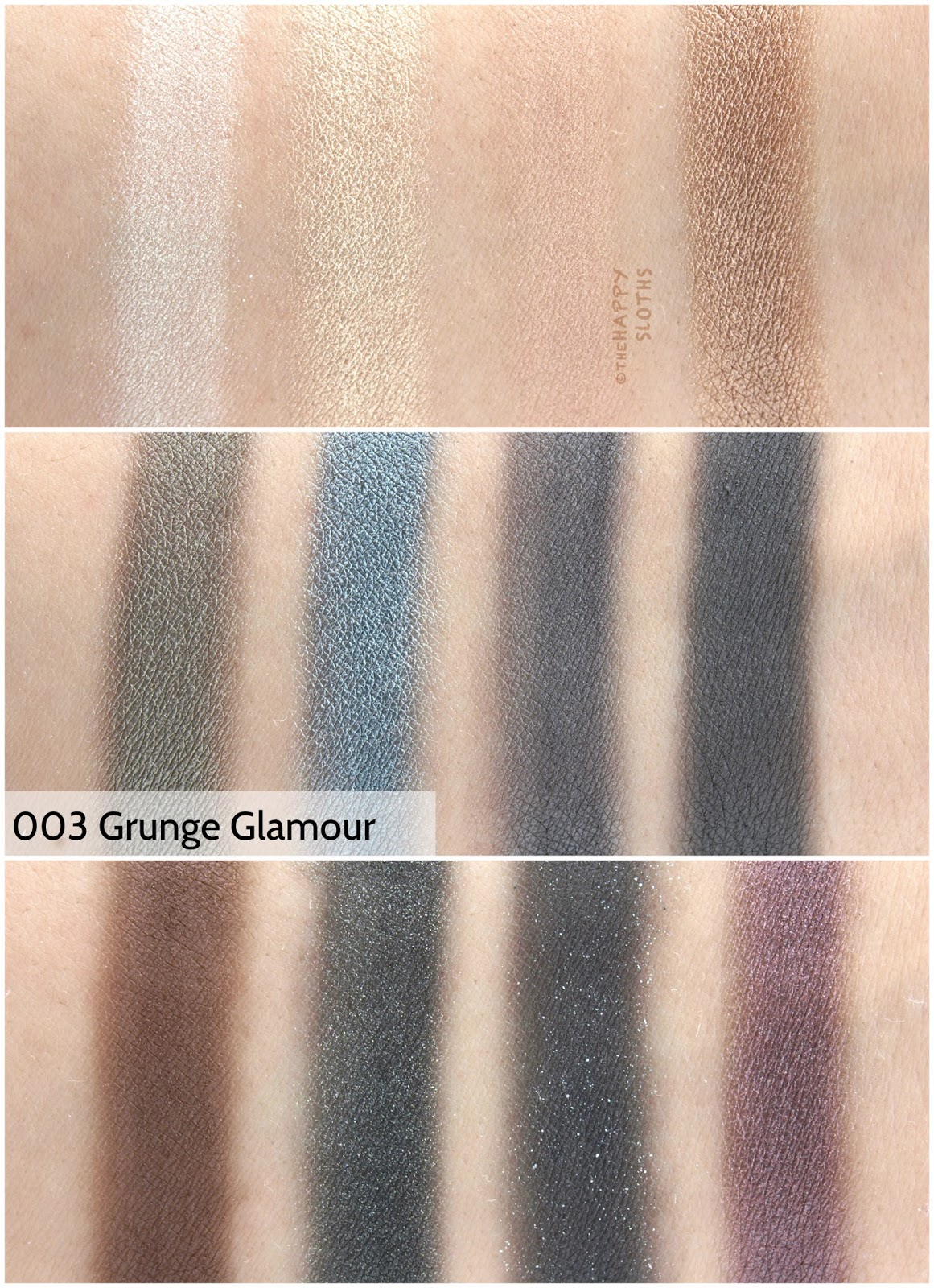 "Rimmel London Magnif'eyes Eyeshadow Contouring Palette in ""003 Grunge Glamour"": Review and Swatches"