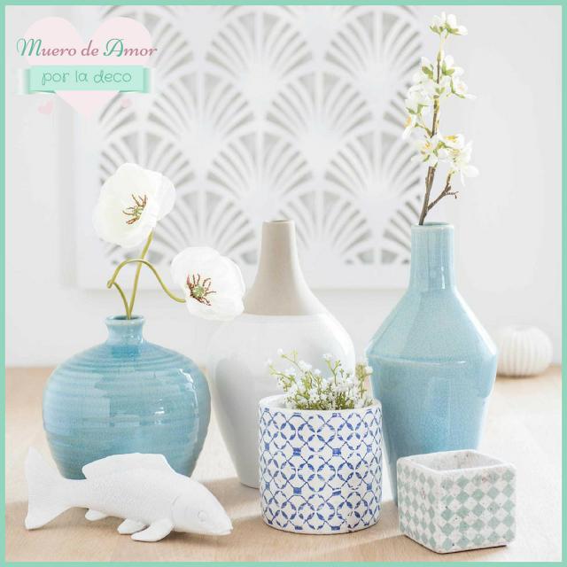Jarrones Azules para Decorar tu Casa-Maisons Du Monde-By Ana Oval-12