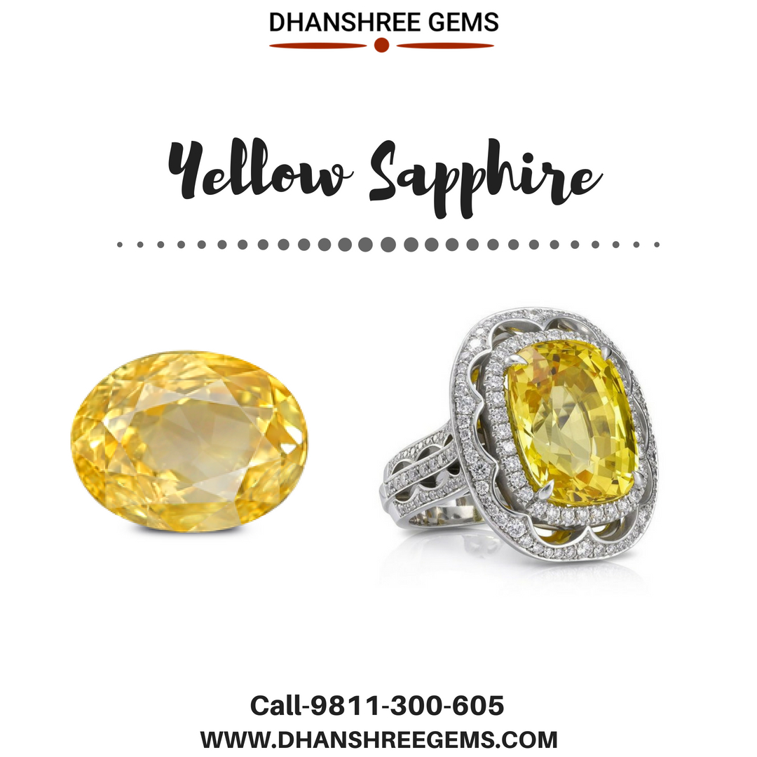 Why Should You Buy Yellow Sapphire Online