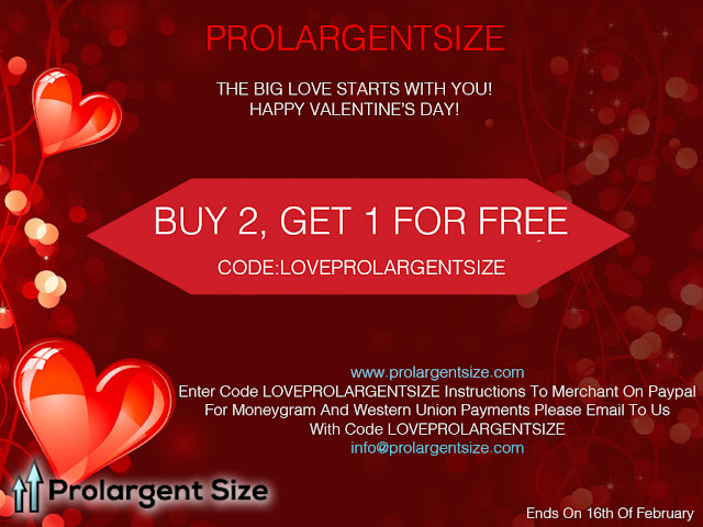 valentine's day offer at prolargentsize herbal capsule store
