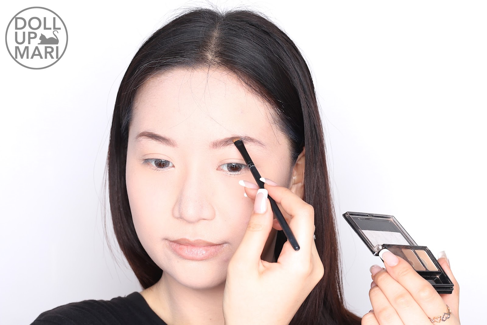 e0aab6c0bc3 After Applying Maybelline Fashion Brow Palette (Dark Brown) On Eyebrows