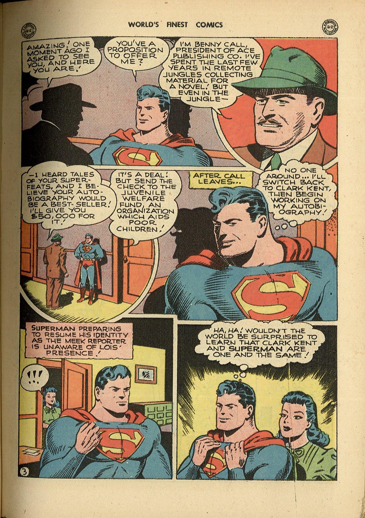 Read online World's Finest Comics comic -  Issue #26 - 5