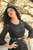 Telugu Actress Pavani Latest Pos in Black Short Dress at Smile Pictures Production No 1 Movie Opening  0002.JPG