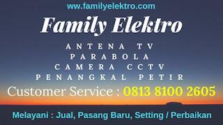 Family Elektro Agen Pasang Antena TV Selong Jakarta Selatan