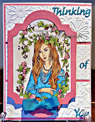 Diecut Divas, Fabrika Fantasy Autumn Fairy