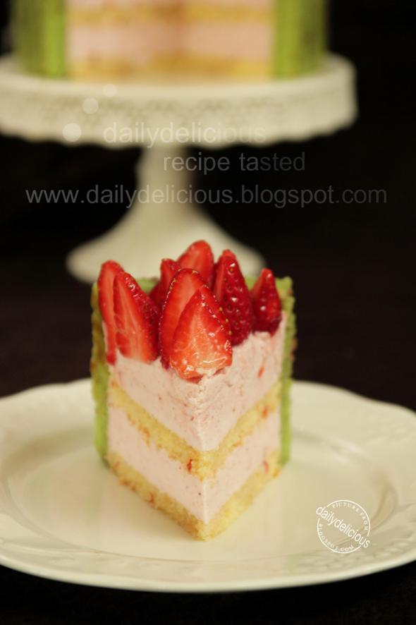 Layer Cake Fraise Citron
