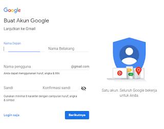 panduan lengkap membuat gmail tanpa verifikasi