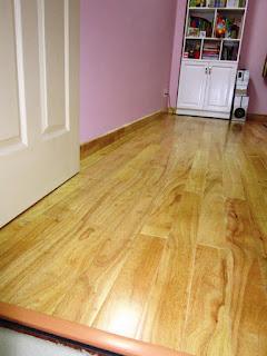 Sàn gỗ cao su - phòng ngủ