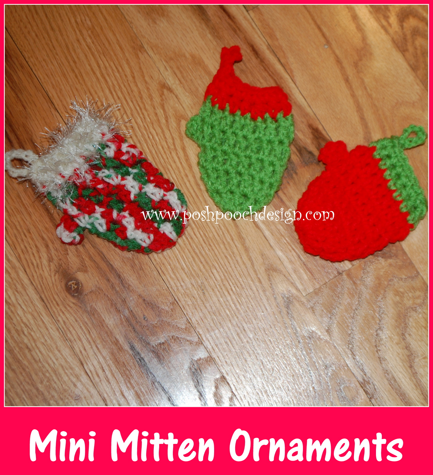 Posh Pooch Designs Dog Clothes: Mini Mitten Christmas ...