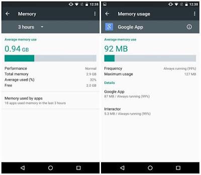 إصدار أندرويد مارشميلو 6.0 يتمحور حول إعطاء المُستخدم المزيد من القوة والقدرة على التحكم بأجهزة الأندرويد خاصتنا، وذاكرة التخزين العشوائية (الرامات _RAM) وهي جزء كبير من هذه القدرة