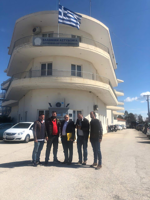 Πρέβεζα: Αντιπροσωπεία του Δήμου Πάργας επισκέφθηκε τον Αστυνομικό Διευθυντή με αφορμή τον Αστυνομικό Σταθμό Πάργας