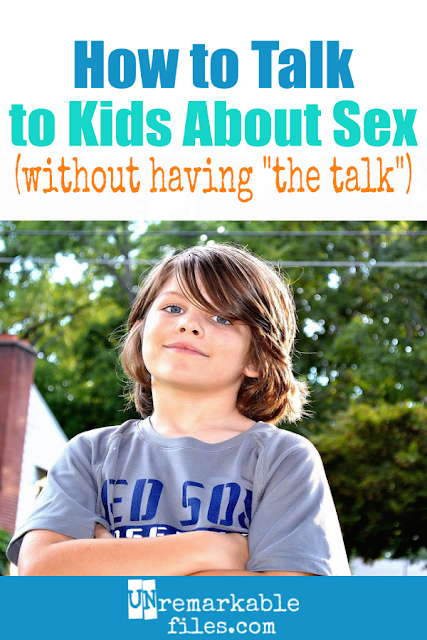 Our 6 kids are all fully aware of where babies come from, but we have never had 'the sex talk' with any of them. If you are looking for a natural, non-awkward method for talking to kids about sex, this is it. Includes tips for when and how to answer questions about sex, as well as what to do if your kids aren't asking about the birds and the bees yet. #parentingtips #kids