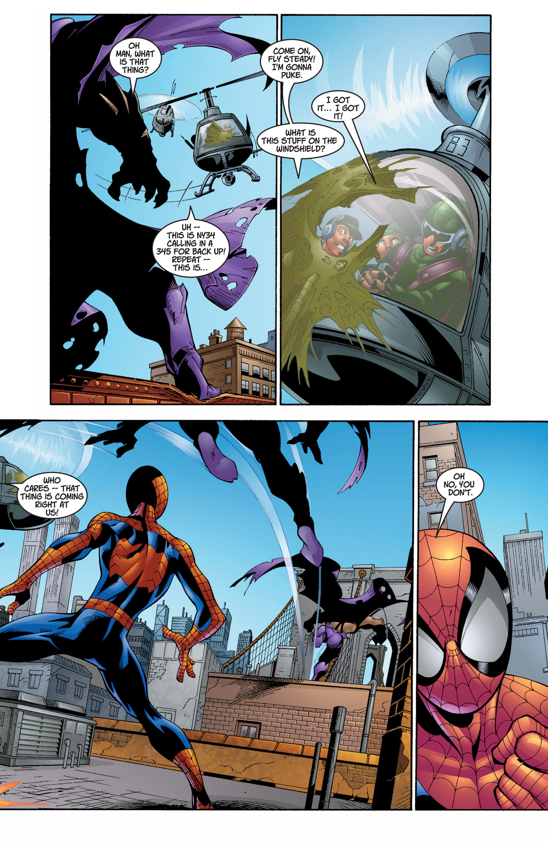 Read online Ultimate Spider-Man (2000) comic -  Issue #7 - 9