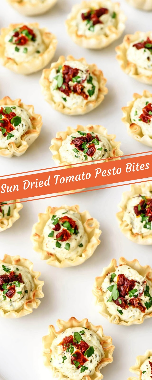 Sun Dried Tomato Pesto Bites