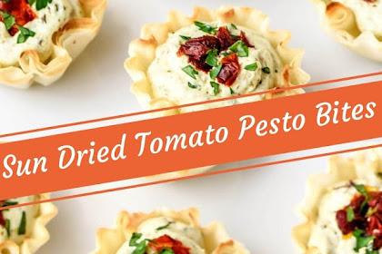 Sun Dried Tomato Pesto Bites #christmas